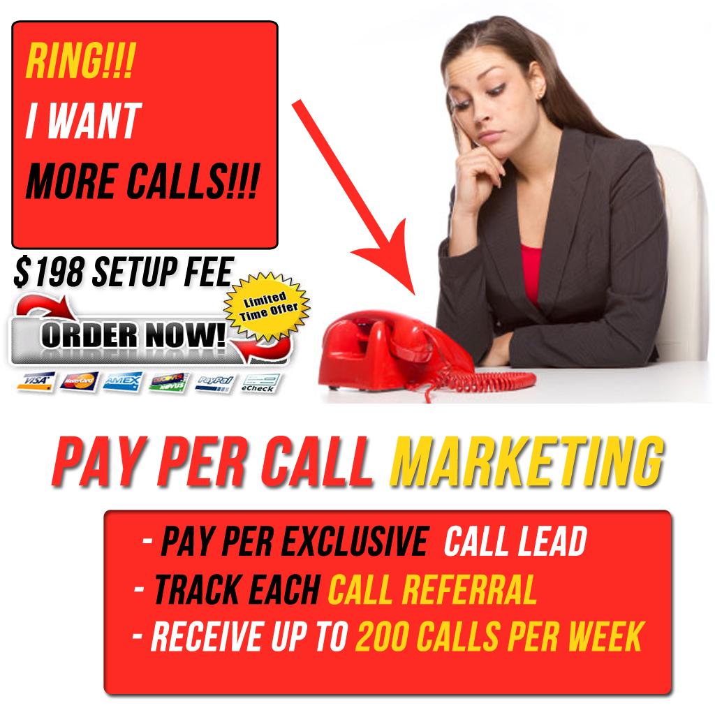 pay per call order now