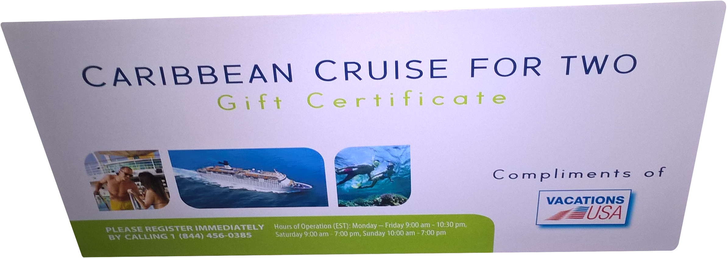 cruise incentives